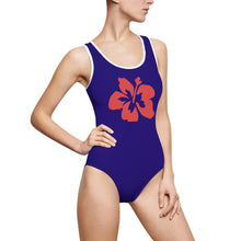 Hibiscus Night's Dream Women's Classic One-Piece Swimsuit - Discount Home & Office