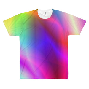 Spirit Of The Rainbow Unisex AOP Sublimation Tee - Discount Home & Office