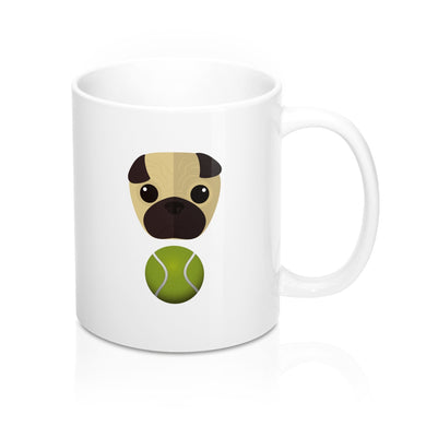 Pug Mug 11oz - Discount Home & Office