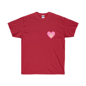 Paw On My Heart Unisex Ultra Cotton Tee - Discount Home & Office
