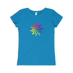 Rainbow Island People Girls Princess Tee - Discount Home & Office