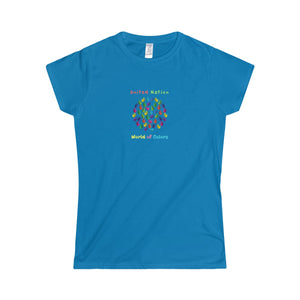United Nation World of Colors Women's Softstyle Tee - Discount Home & Office