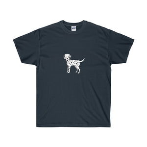 Dalmatian Pup Forever Unisex Ultra Cotton Tee - Discount Home & Office