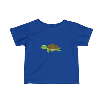 Sandy The Sea Turtle Baby Infant Fine Jersey Tee - Discount Home & Office