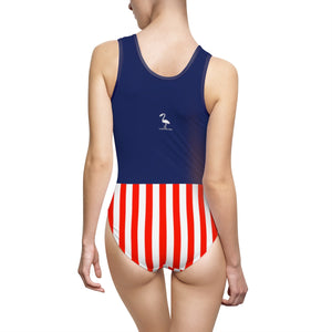 Stars & Stripes Forever Women's Classic One-Piece Swimsuit - Discount Home & Office