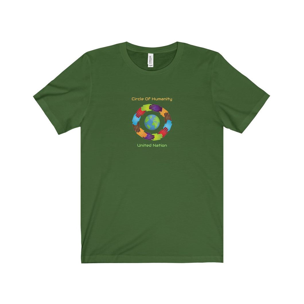 Circle of Humanity United Nation Unisex Tee - Discount Home & Office