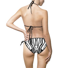 Zebra Stripes Women's Bikini Swimsuit - Discount Home & Office