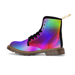 Tropical Rainbow Men's Martin Boots - Discount Home & Office