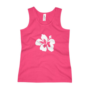 Hibiscus Dreams Girls Tank Top - Discount Home & Office