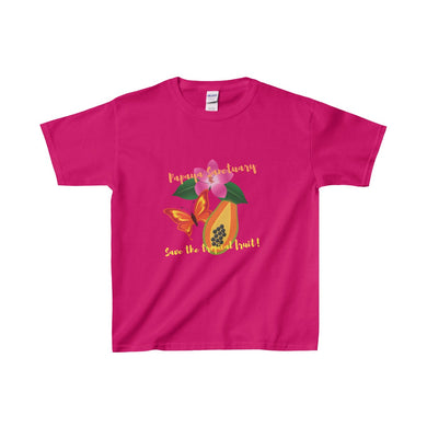 Papaya Sanctuary Kids Heavy Cotton Tee - Discount Home & Office