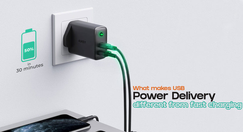 What Makes USB PD So Different from Other Types of Fast Charging?