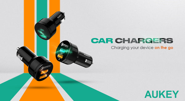 Aukey Car Chargers The Ideal On-The-GO Upgrade