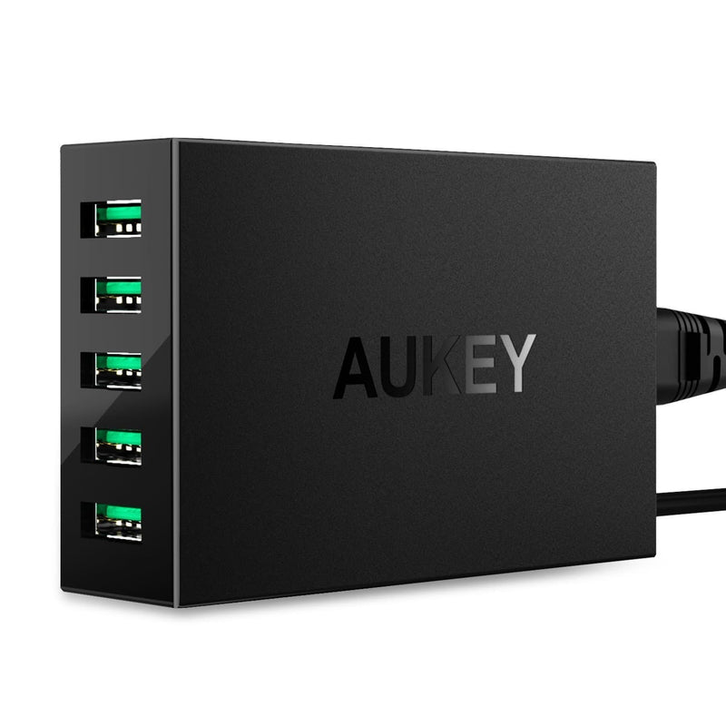 AUKEY PA-U33 50W AiPower 5 USB Port USB Charging Station - Aukey Malaysia Official Store