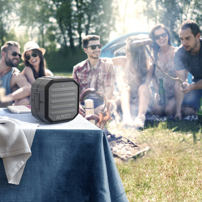 AUKEY SK-M13 Portable outdoor wireless bluetooth speaker with enhance bass - Aukey Malaysia Official Store