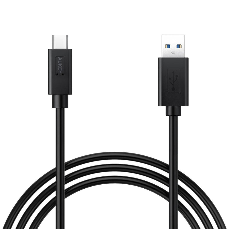 AUKEY CB-C10 Super Speed USB 3.0 to USB-C 1 Meter Cable - Aukey Malaysia Official Store