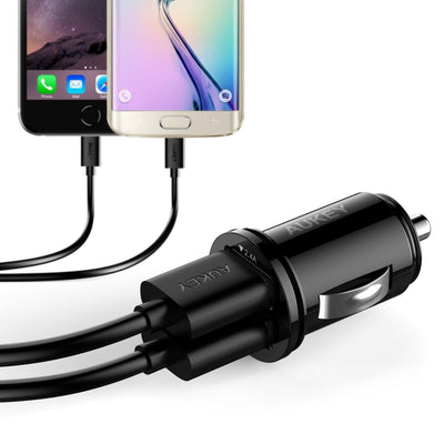 CC-S1 Universal True AiPOWER 24W 4.8A Dual Port Car Charger - Aukey Malaysia Official Store