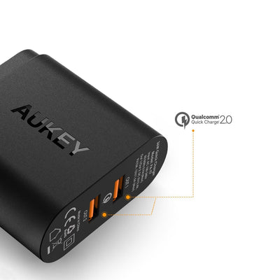 PA-T7 36W Dual Qualcomm Quick Charge 2 0 Charger