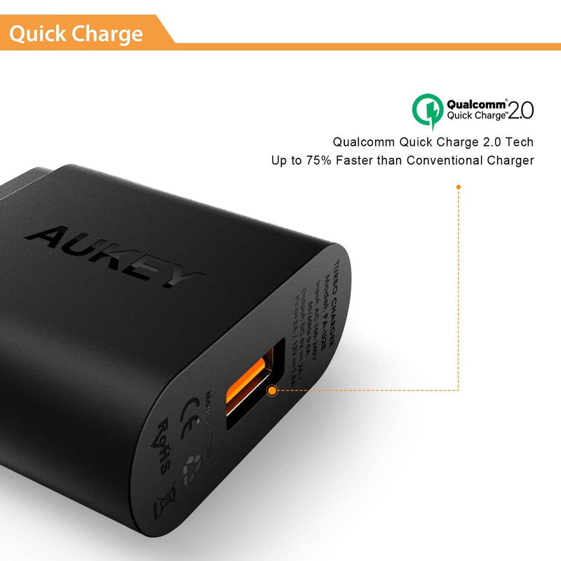AUKEY PA-U28 Qualcomm Quick Charge 2.0 Charger - Aukey Malaysia Official Store