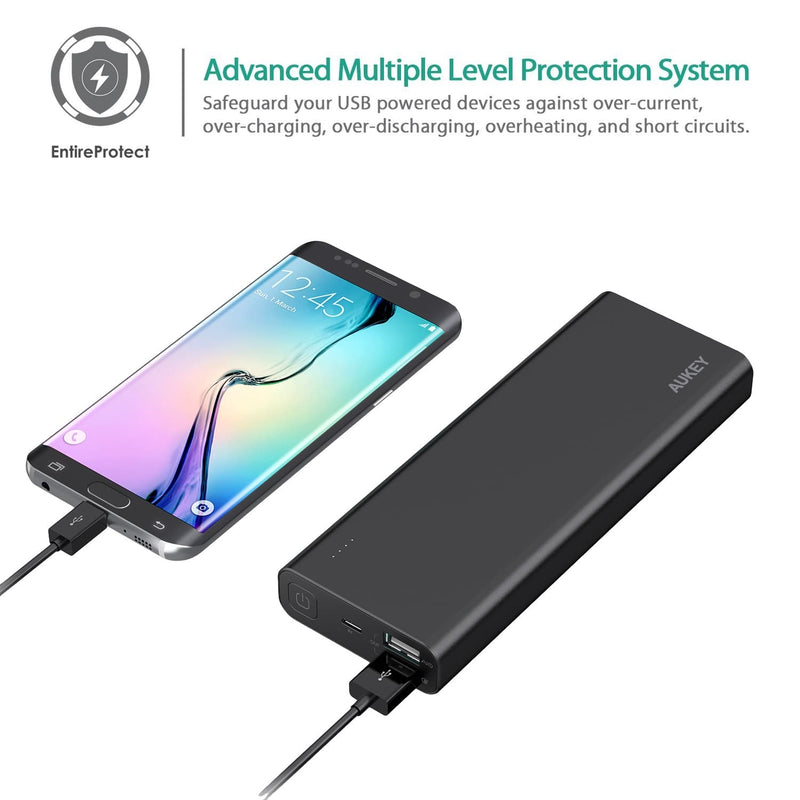 AUKEY PB-AT20 Premium 20100mAh Qualcomm Quick Charge 3.0 Power Bank - Aukey Malaysia Official Store