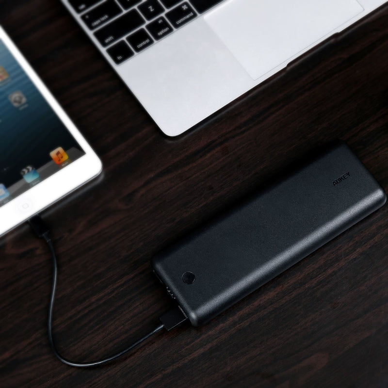 AUKEY PB-BY20 20100mAh Power Force Series USB C Power Bank - Aukey Malaysia Official Store
