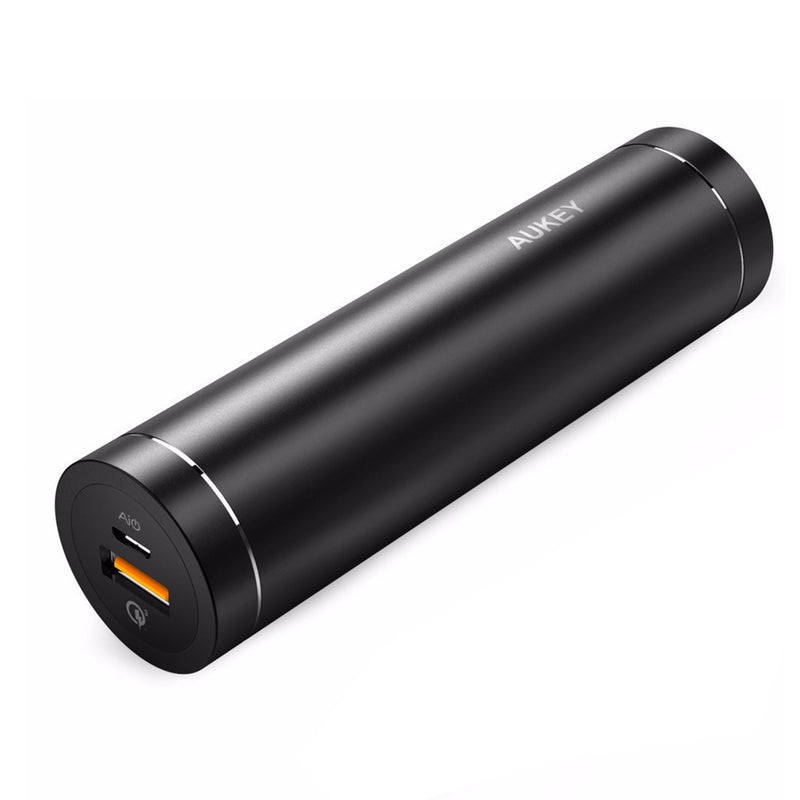 AUKEY PB-T12 5000mAh Qualcomm Quick Charge 3.0 Power Bank - Aukey Malaysia Official Store