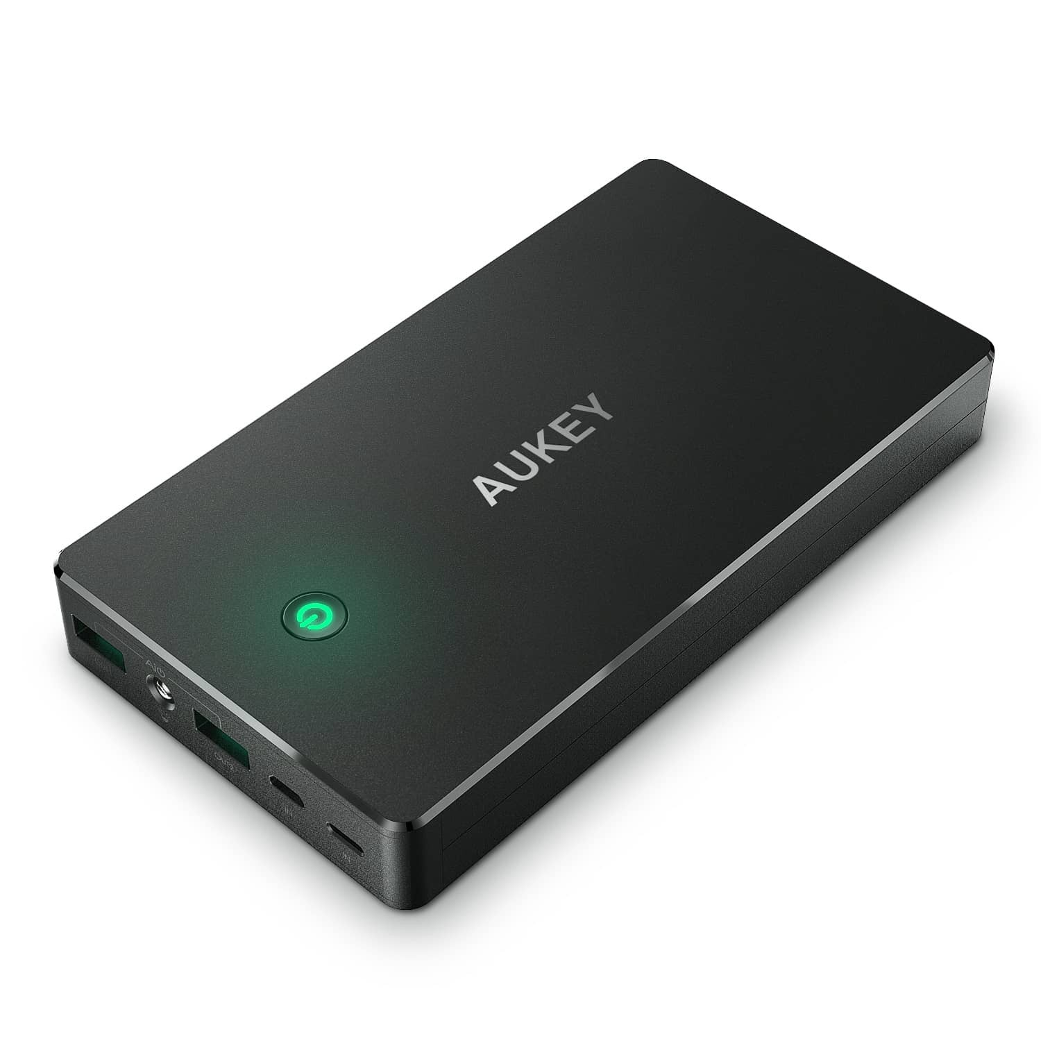 AUKEY PB-Y1 20000mAh Qualcomm Quick Charge 2.0 with USB C Power Bank - Aukey Malaysia Official Store