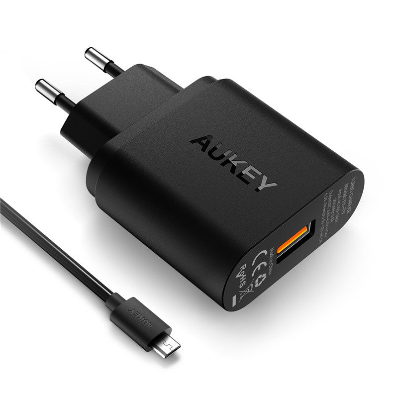 AUKEY PA-T9 Qualcomm Quick Charge 3.0 Travel Charger - Aukey Malaysia Official Store