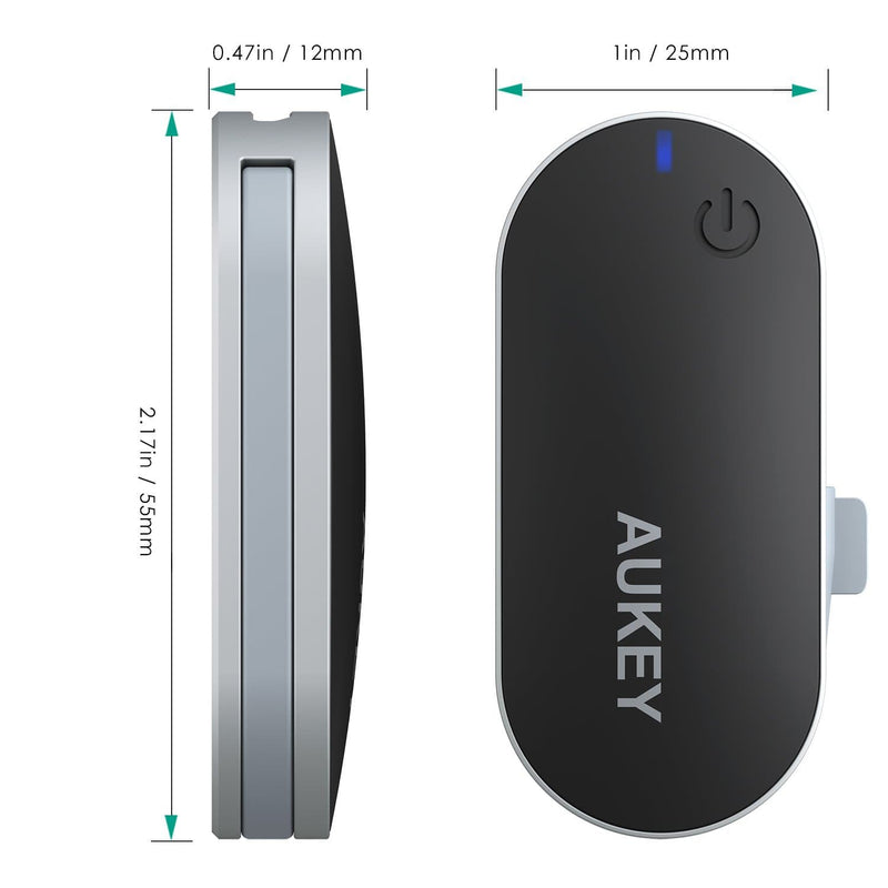 AUKEY BT-C1 Bluetooth Transmitter Wireless Portable Stereo Music Adapter Dongle - Aukey Malaysia Official Store