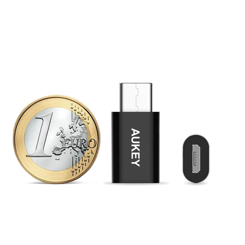 AUKEY CB-A2 USB C To Micro USB Converter (1 Pcs) - Aukey Malaysia Official Store