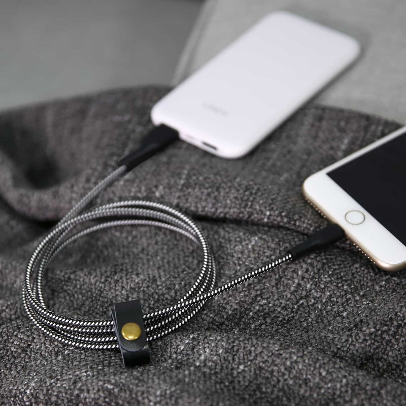 CB-AL2 Braided Nylon MFI Apple Lightning Performance Cable 2 meter