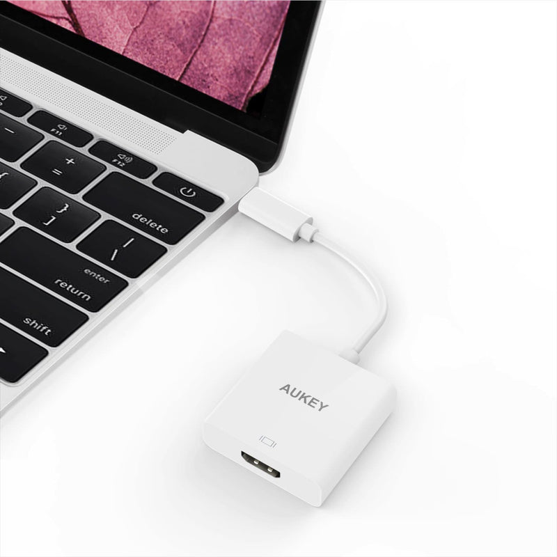 AUKEY CB-C40 USB-C to HDMI Adapter Support Up To 4k/30Hz - Aukey Malaysia Official Store