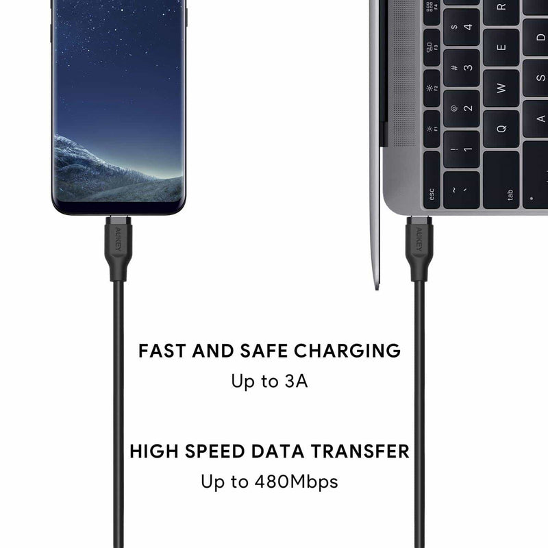 CB-CD17 USB 2.0 USB C to USB C Fast Charge Cable - 1.8 Meter