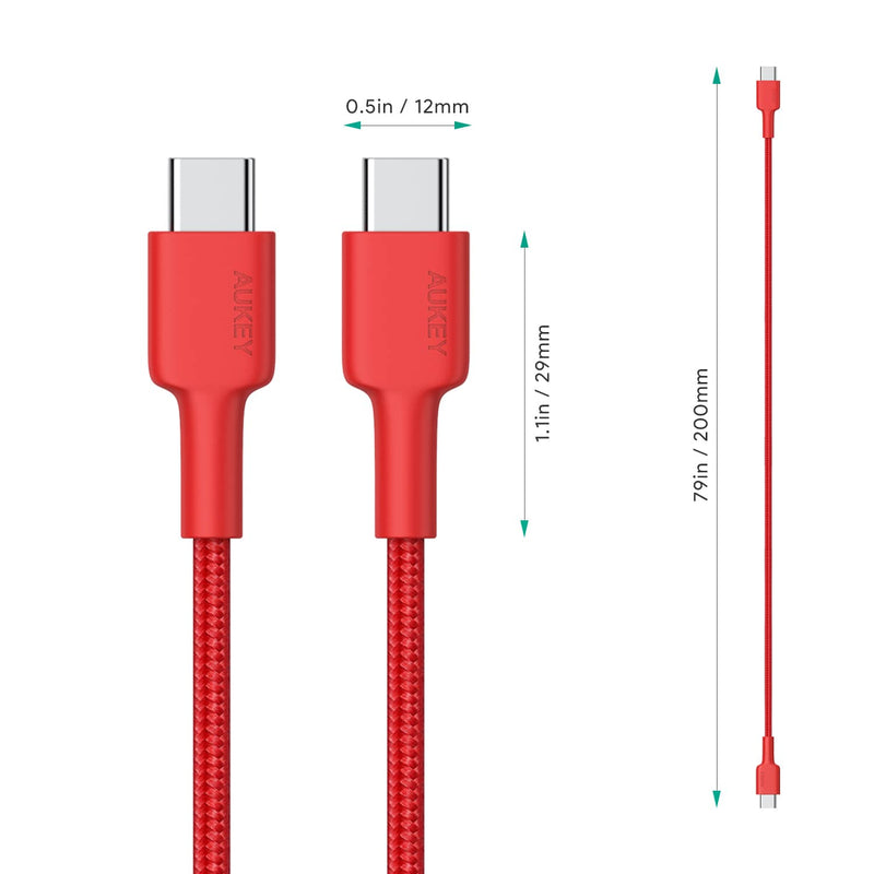 CB-CD29 USB C to USB C Nylon Aramid Fiber PD Cable - 1.2m