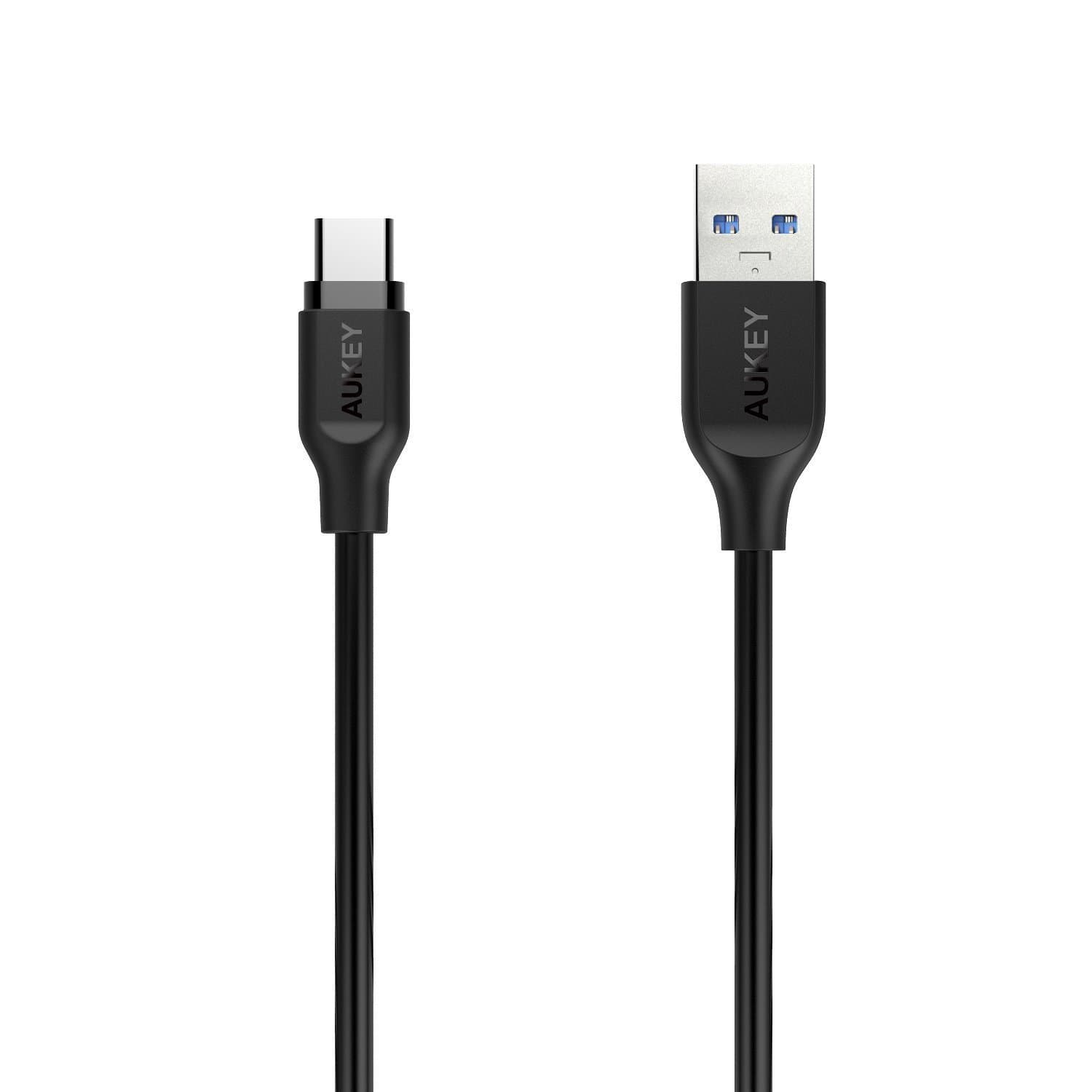 AUKEY CB-CD4 1M USB C Cable Type-C to USB 3.0 Cable - Aukey Malaysia Official Store