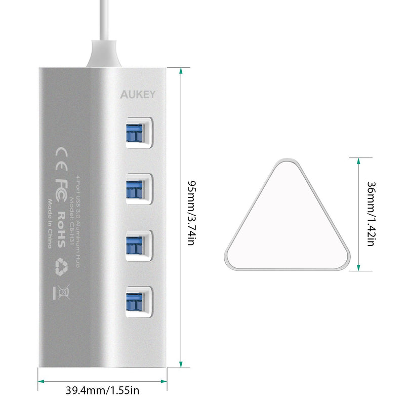 AUKEY CB-H31 4-Port USB 3.0 Hub - Aukey Malaysia Official Store