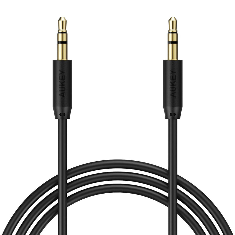 AUKEY CB-V10 Premium 3.5mm Audio Gold Plated AUX Cable 1.2 METER - Aukey Malaysia Official Store
