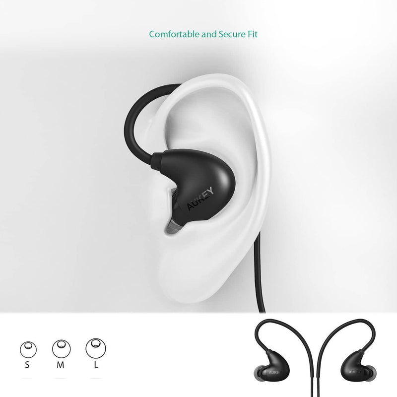 AUKEY EP-B16 Ultra Light 13GRM Bluetooth 4.1 A2DP ARC Design Sports Headset - Aukey Malaysia Official Store