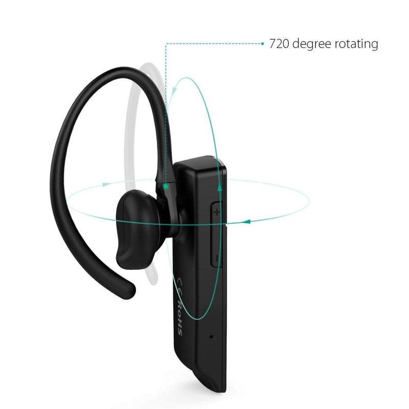 AUKEY EP-B19 Ultra Light Bluetooth 4.1 HD Stereo Earphone - Aukey Malaysia Official Store