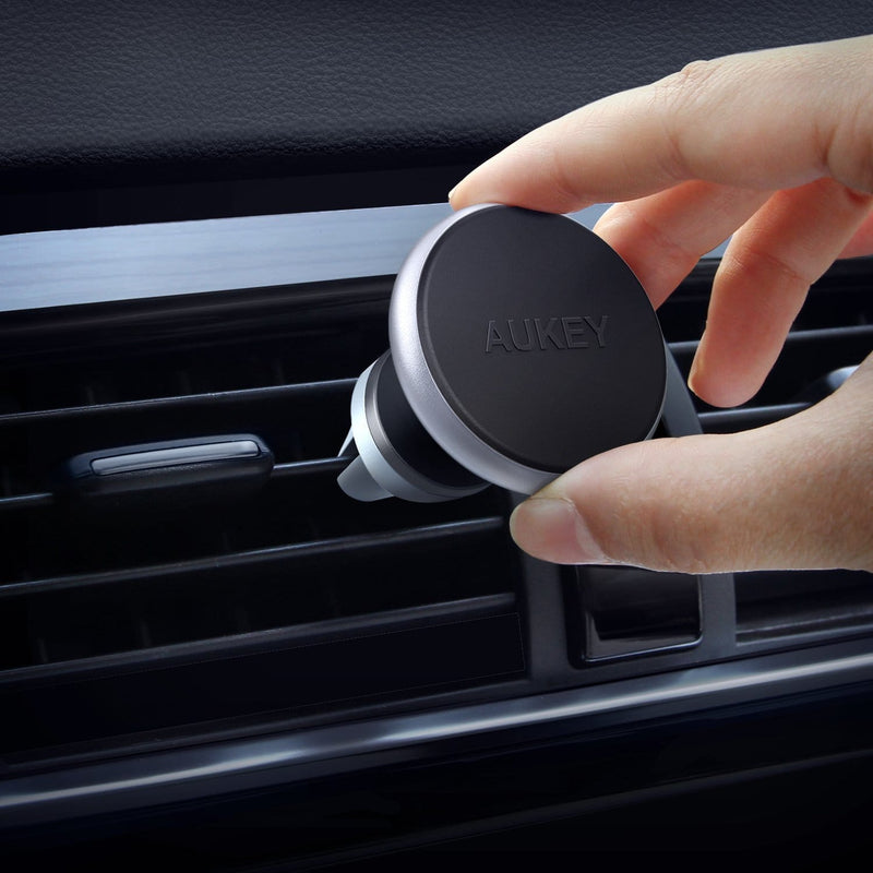 AUKEY HD-C12 Universal Adjustable 360 Air Vent Magnetic Car Mount - Aukey Malaysia Official Store