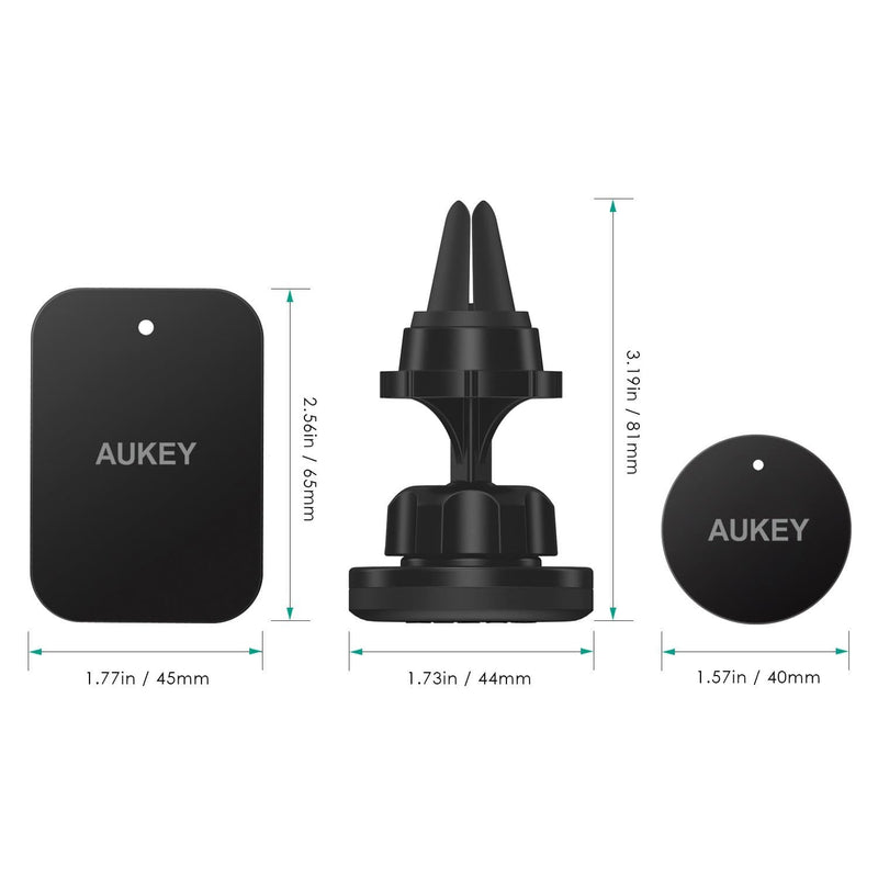AUKEY HD-C23 Magnetic Air Vent 360° Rotatable Car Mount - Aukey Malaysia Official Store