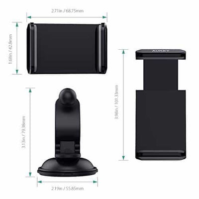 HD-C29 360 Degrees Rotation Universal Car Mount