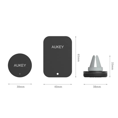 AUKEY HD-C5 Magnetic Universal Air Vent Mount Smart phone Holder - Aukey Malaysia Official Store