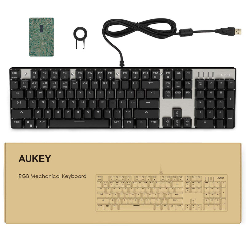 KM-G3 104 Key RGB Backlit Mechanical Keyboard