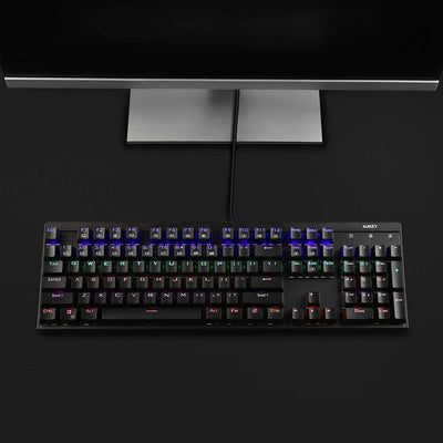 KM-G6 104 Key LED-Backlit Mechanical Keyboard