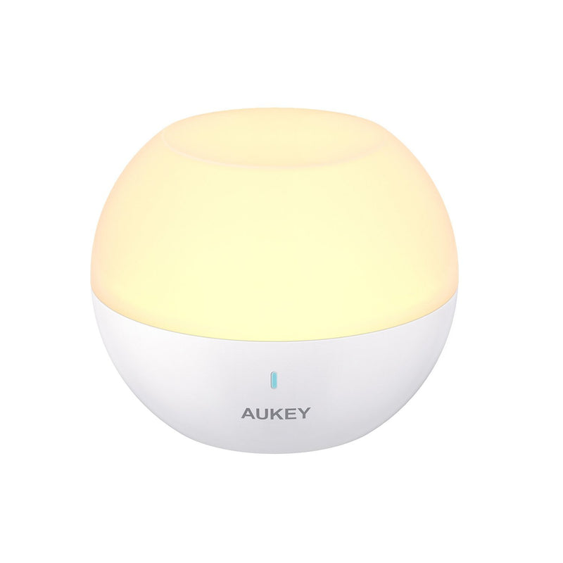 AUKEY LT-ST23 Mini RGB Colour Night Light Desk Lamp - Aukey Malaysia Official Store