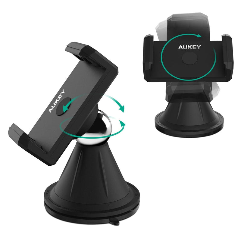 AUKEY HD-C18 Windshield Dashboard Car Mount Holder - Aukey Malaysia Official Store