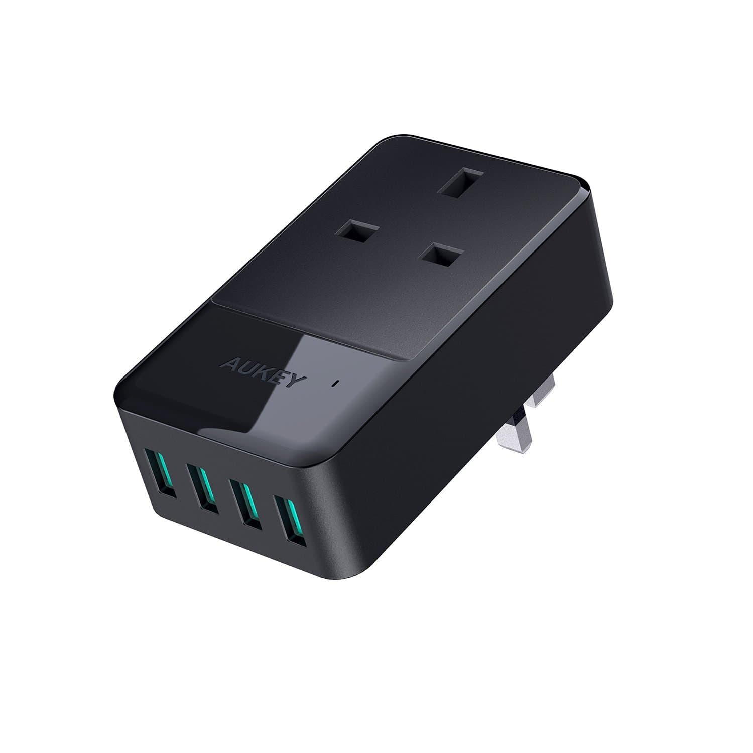 PA-S11 PowerHub Mini 4 USB Port With 1 Socket Travel Charger