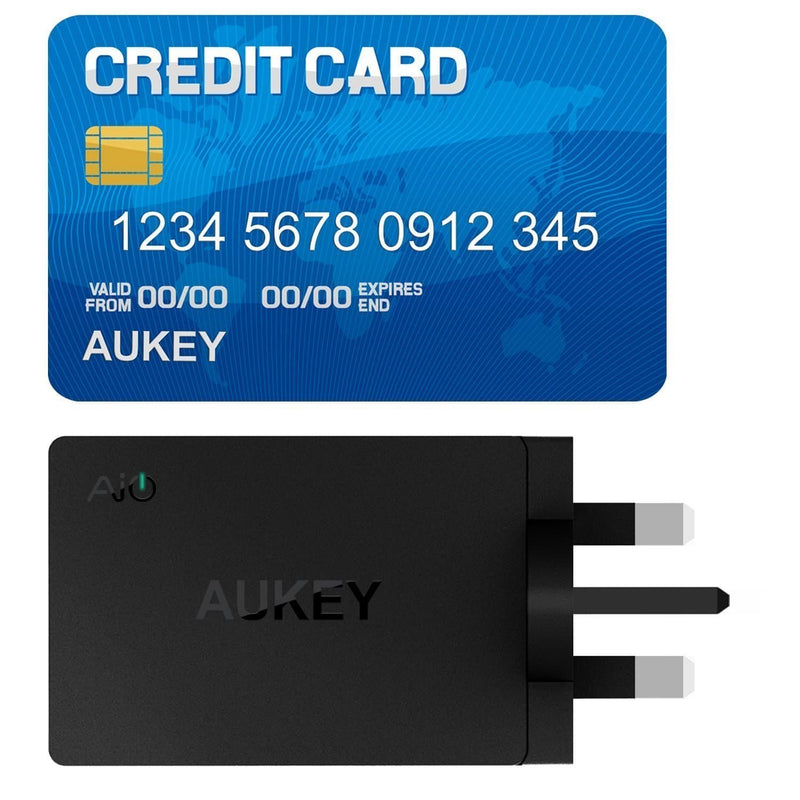 AUKEY PA-U35 30W 6A 3 USB Port AiPower Travel Charger - Aukey Malaysia Official Store