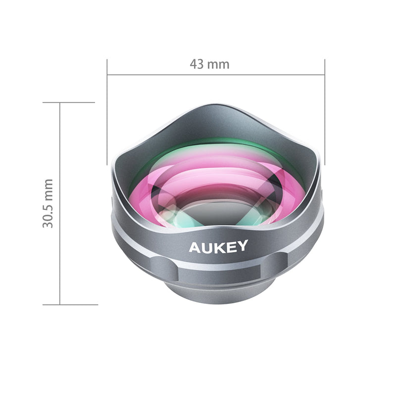 AUKEY PL-BL02 ORA 3X Optical Zoom Clip-On Telephoto Camera Lens - Aukey Malaysia Official Store