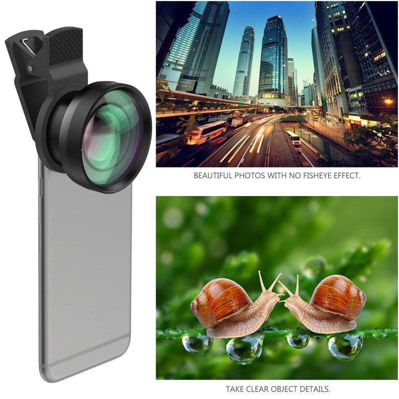 AUKEY PL-WD06  2 in 1 Clip Ora Lens Kit On with 0.45X Wide Angle + 15X Macro Lens - Aukey Malaysia Official Store